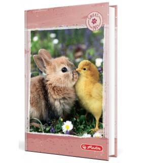 Agenda nedatata A6, coperta tare, motiv Bunny, Sweety HERLITZ