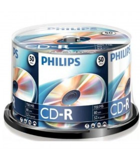 CD-R 700 MB - 80 min (Spindle, 52x) PHILIPS