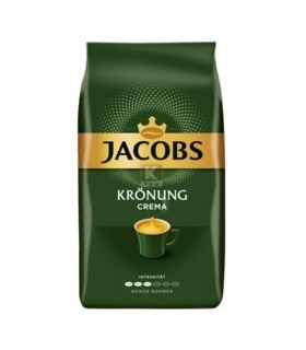 Cafea boabe, 1000 g, Cafe Crema Kronung JACOBS