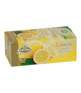 Ceai lamaie si alte fructe, 20 pliculete/ cutie, BELIN