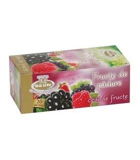 Ceai fructe de padure, 20 pliculete/ cutie, BELIN