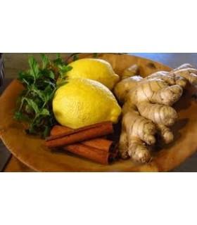 Ceai fructe 30% ghimbir si lime, 20 pliculete/ cutie, BELIN