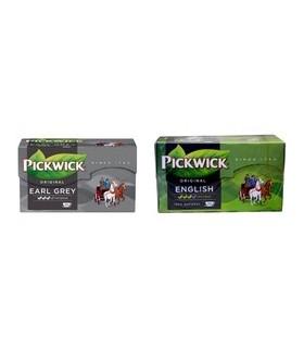 Ceai negru englezesc, 20 x 2g/ pachet, English Tea Blend PICKWICK