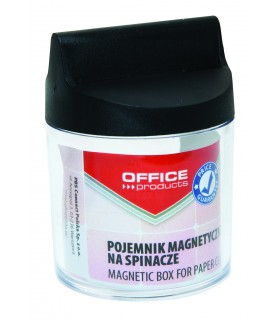 Dispenser magnetic pentru agrafe, D 58 x H 68 mm, OFFICE PRODUCTS