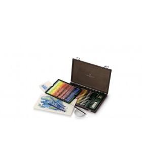 Creioane colorate acuarela, 48 buc/cutie lemn, Albrecht Durer FABER-CASTELL