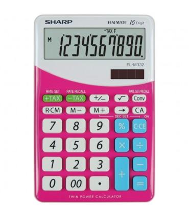 Calculator de birou, 10 digits, dual power, EL-M332BBL, SHARP