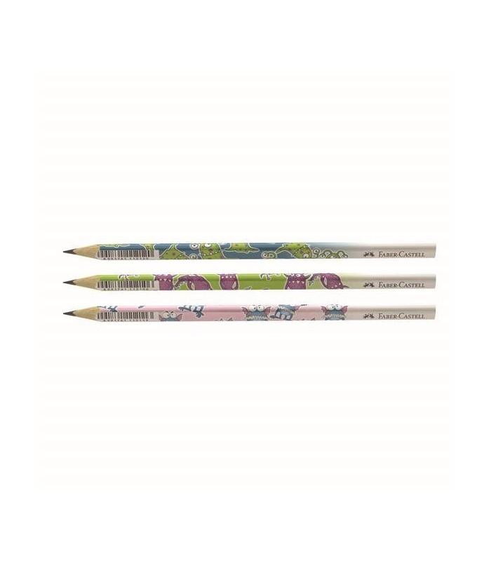 Creion grafit B Monstri FABER - CASTELL