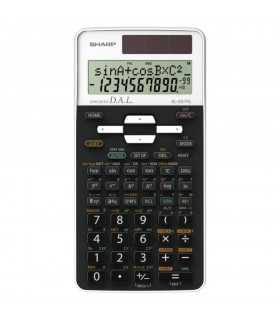 Calculator stiintific, 12 digits, 273 functiuni, negru/alb, EL-531THBWH, SHARP