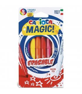 Set carioci colorate varf 6.0 mm Erasable CARIOCA
