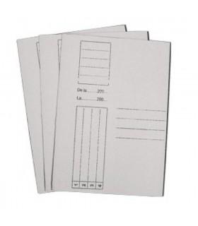Dosar carton alb duplex simplu A4
