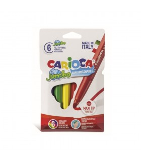 Set carioci super lavabile varf 6.0 mm model Jumbo CARIOCA