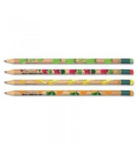 Creion grafit cu guma model fructe, duritate HB, ADEL