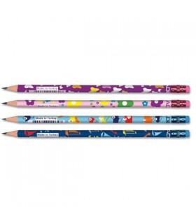 Creion grafit HB cu guma Kids ADEL