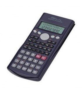Calculator stiintific 12 digiti 240F, negru 1710 DELI