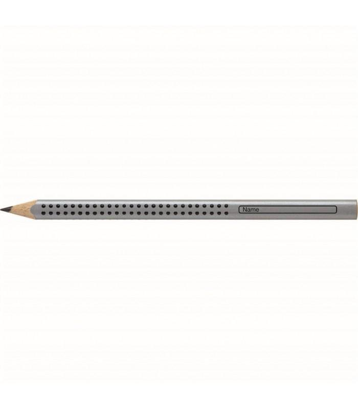 Creion grafit argintiu duritate HB, FABER - CASTELL