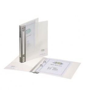 Caiet mecanic A4 2 inele 25 mm coperti flexibile transparent Executive SNOPAKE