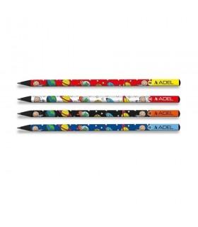 Creion grafit HB lemn negru Space ADEL
