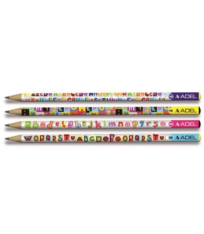 Creion grafit model Litere duritate HB, ADEL