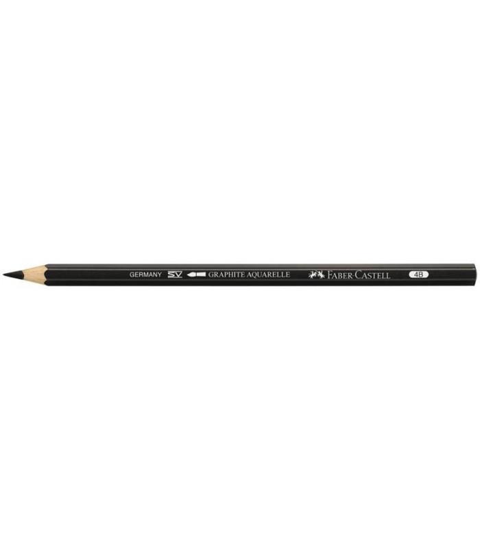 Creion grafit 4B Graphite Aquarelle FABER - CASTELL