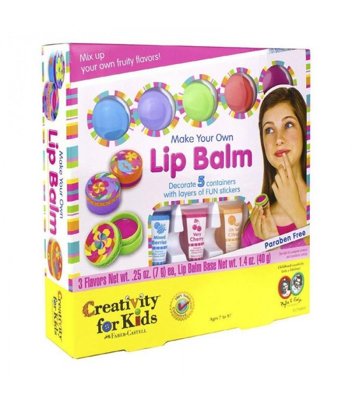 Set creativity Balsam de buze FABER CASTELL