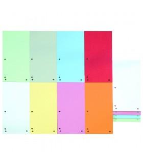 Separatoare carton pentru biblioraft, 190 g/mp, 105 x 235 mm, 100/set, Duo DONAU