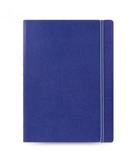 Caiet multifunctional Notebook Classic cu spirala si rezerve A4 Blue, FILOFAX