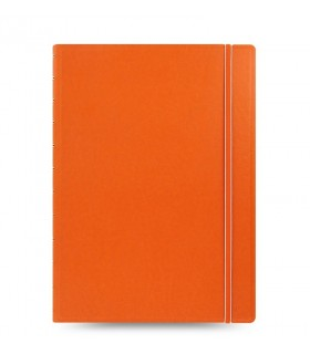 Caiet multifunctional Notebook Classic cu spirala si rezerve A4 Orange, FILOFAX