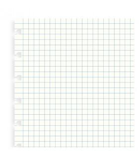 Rezerva hartie FILOFAX matematica 32 buc/set A5, compatibila cu agenda Notebook Filofax