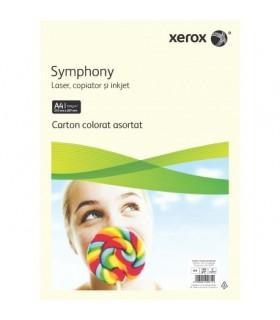 Carton color  pastel asortat A4 160 grame 100 coli XEROX
