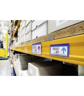 Buzunar logistic magnetic pentru etichete 100 x 38 mm, 50 buc/set, DURABLE