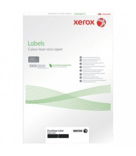 Eticheta autocolant polietilena A4, 240 grame, 50 coli/top, alb, Teslin XEROX