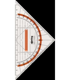 Echer cu maner 16 cm Geometry ROTRING