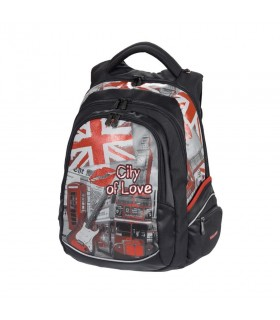 Rucsac City Of Love London negru WALKER