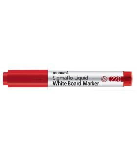 Marker whiteboard rosu SigmaFlo 220, varf 2 mm MONAMI