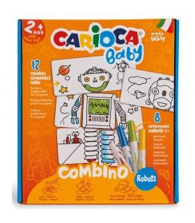 Set creativ Combino Robots 2+ CARIOCA Baby