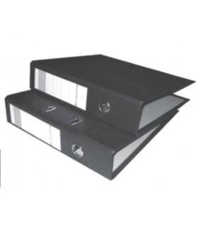 Pachet PROMO 25 biblioraft marmorat A4 75 mm negru NOKI