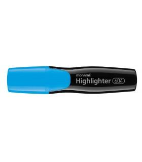 Pachet PROMO 12 textmarker 604 albastru, varf tesit 1.0 - 6.0 mm MONAMI