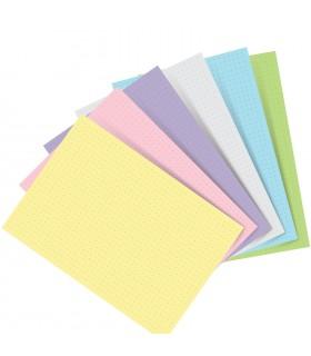 Rezerva hartie punctata 60 buc/set A5 compatibila cu Agendele Organiser si Clipbook-urile FILOFAX
