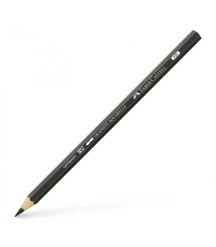 Creion grafit duritate 8B, Graphite Aquarelle FABER - CASTELL