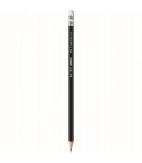 Creion grafit HB cu guma 1112 FABER - CASTELL
