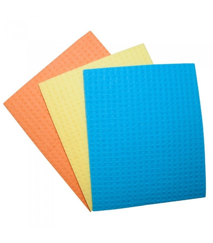 Lavete umede, absorbante, 18 x 16 cm, 3 buc/set, OFFICE PRODUCTS