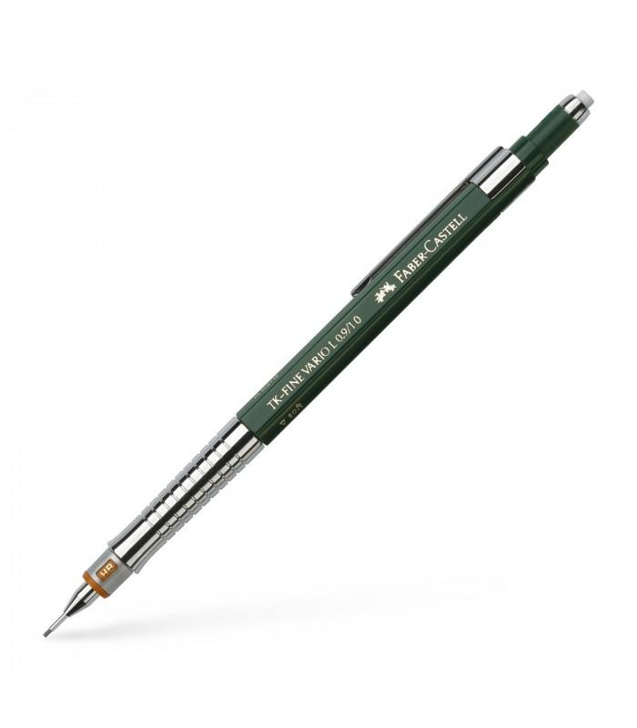 Creion mecanic verde, varf 1.0 mm TK-Fine Vario L.9 FABER - CASTELL