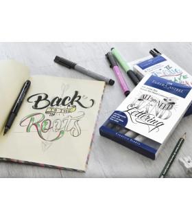 Marker Pitt Artist Pen Caligrafic set 8 bucati FABER - CASTELL