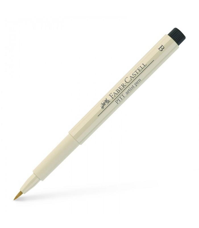 Marker gri cald I Pitt Artist Pen Brush FABER - CASTELL