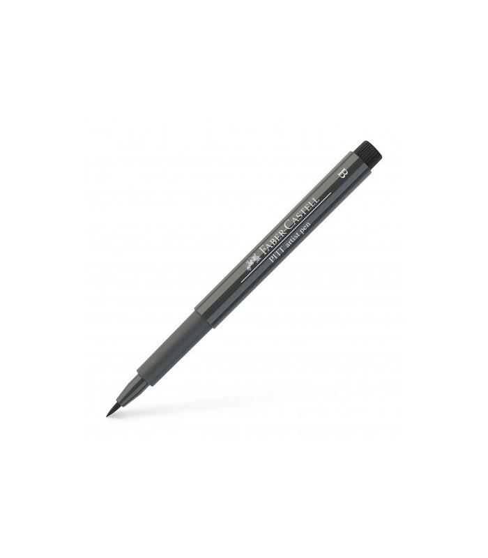 Marker gri cald V Pitt Artist Pen Brush FABER - CASTELL