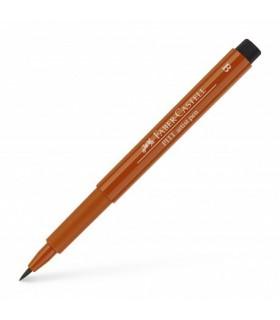 Marker rosu sangvin Pitt Artist Pen Brush FABER - CASTELL
