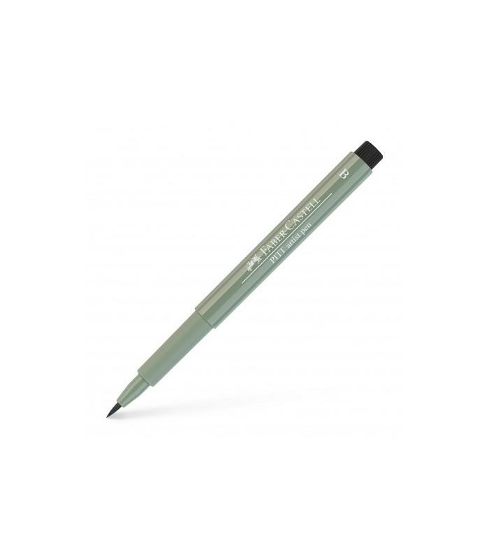 Marker verde arctic Pitt Artist Pen Brush FABER - CASTELL
