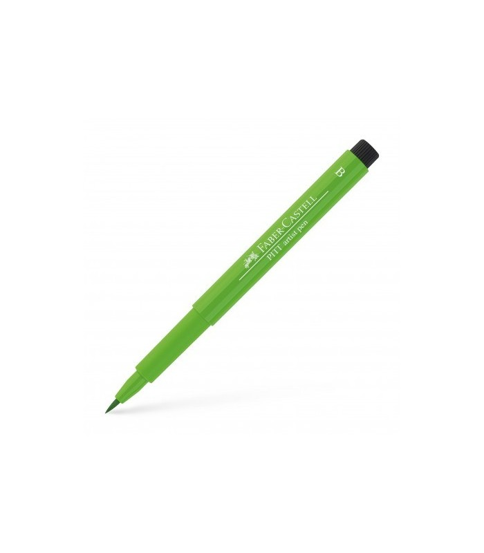 Marker verde deschis Pitt Artist Pen Brush FABER - CASTELL
