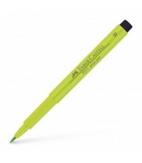 Marker vernil deschis Pitt Artist Pen Brush FABER - CASTELL