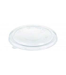 Capac plat pentru bol salata 680 ml, transparent 50 buc/set NATURESSE